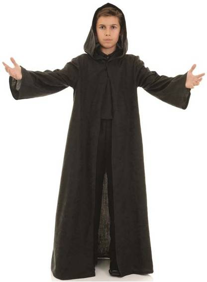 BLACK CLOAK FOR KIDS