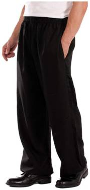 BLACK PANTS COSTUME ACCESSORY FOR MEN