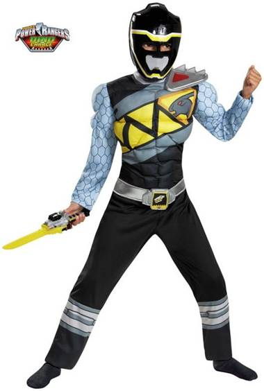 BLACK POWER RANGER DINO CHARGE