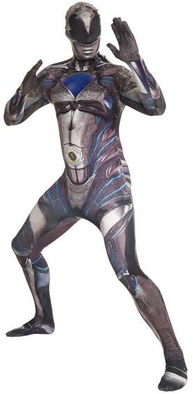 BLACK RANGER POWER RANGERS MOVIE ADULT MORPH SUIT