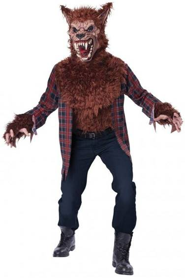BLOOD MOON WEREWOLF COSTUME FOR MEN