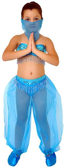 ARABIAN PRINCESS (BLUE) COSTUME FOR GIRLS