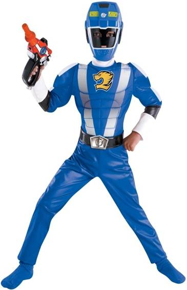 BLUE MUSCLE POWER RANGER RPM