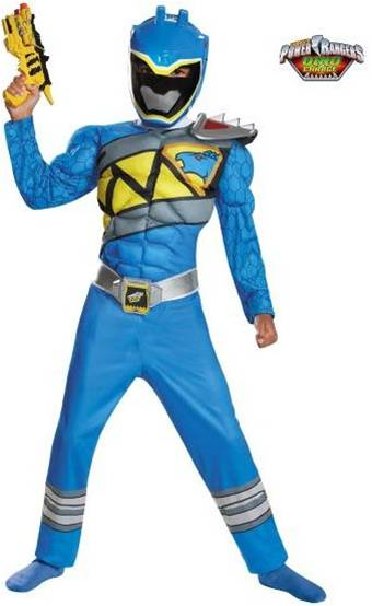 BLUE POWER RANGER DINO CHARGE