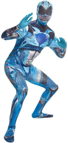 BLUE RANGER POWER RANGERS MOVIE ADULT MORPH SUIT