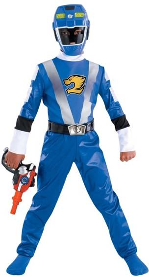 BLUE POWER RANGER RPM