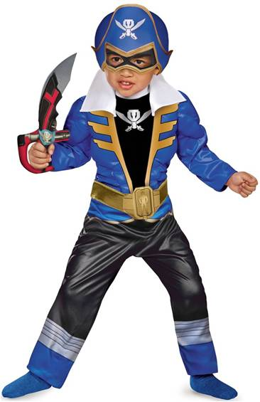 BLUE RANGER SUPER MEGAFORCE WITH MUSCLE CHEST