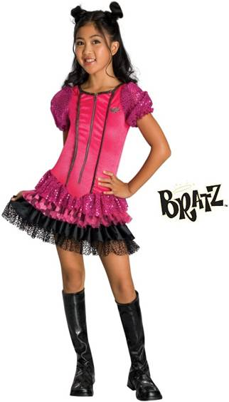 Bratz doll costume for adults
