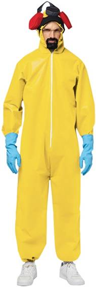 BREAKING BAD HAZMAT SUIT PLUS SIZE