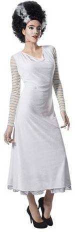 BRIDE OF FRANKENSTEIN COSTUME FOR WOMEN