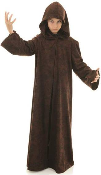 BROWN CLOAK FOR KIDS