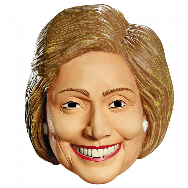HILLARY MASK FOR ADULTS