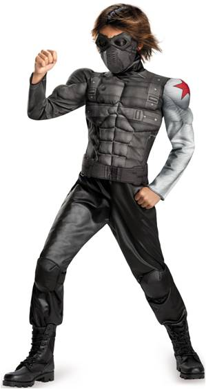 CAPTAIN AMERICA WINTER SOLDIER WITH MUSCLE TORSO
