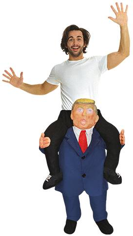 CARRY ME TRUMP FUN COSTUME FOR ADULTS
