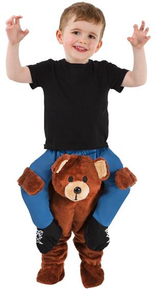 CARRY ME TEDDY BEAR PIGGYBACK COSTUME FOR KIDS
