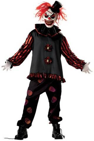 CARVER THE KILLER CLOWN COSTUME FOR MEN