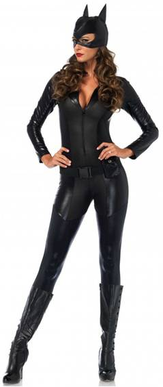 SEXY SUPERHERO CRIMEFIGHTER COSTUME FOR WOMEN