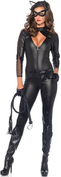 WICKED KITTY CATWOMAN COSTUME FOR WOMEN