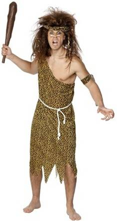 CAVEMAN COSTUME FOR MEN