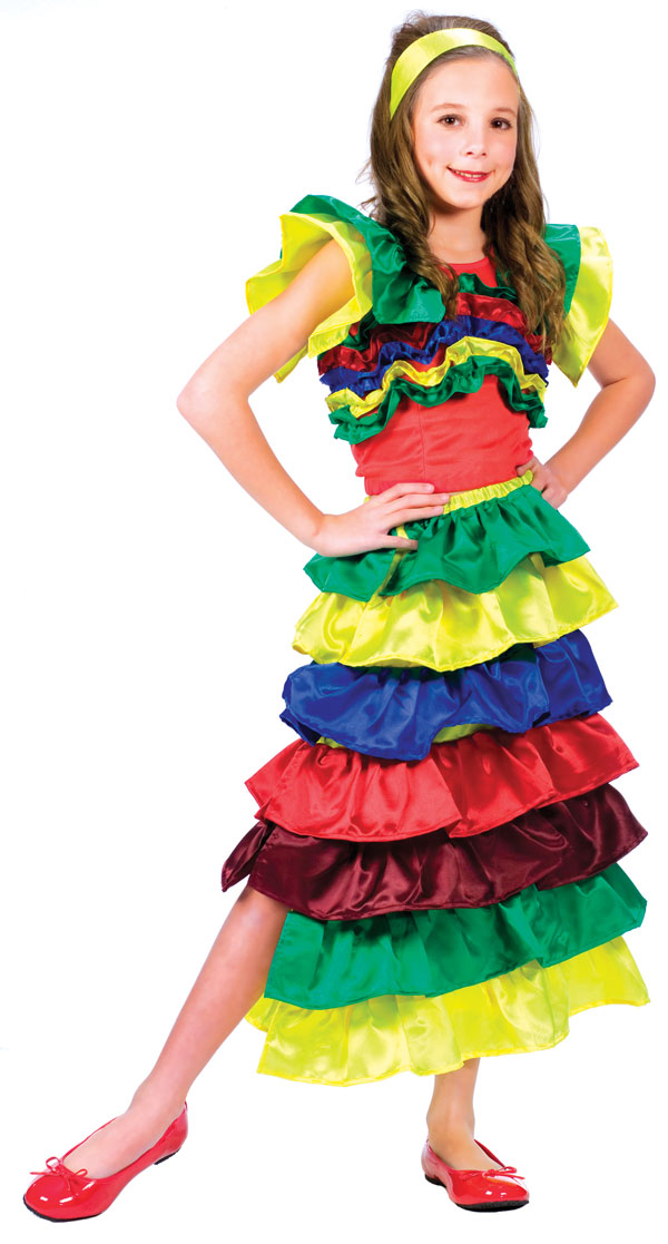 *STORE ONLY* CHA CHA GIRL COSTUME FOR GIRLS