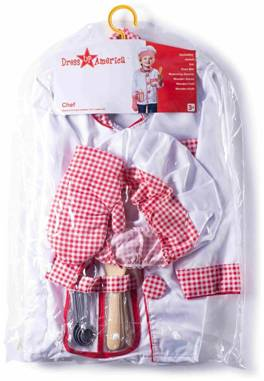CHEF SET COSTUME FOR KIDS