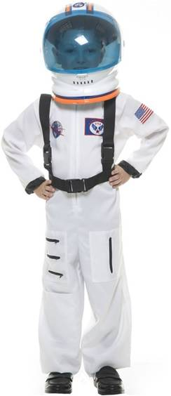 DELUXE ASTRONAUT COSTUME FOR BOYS