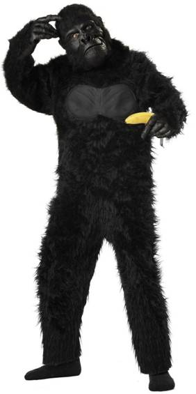 DELUXE GORILLA COSTUME FOR BOYS*only available M*