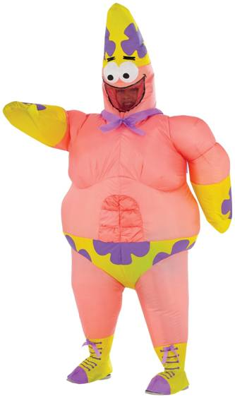 INFLATABLE PATRICK STAR COSTUME FOR KIDS