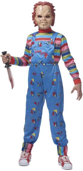 CHUCKY GOOD GUY DOLL COSTUME FOR KIDS