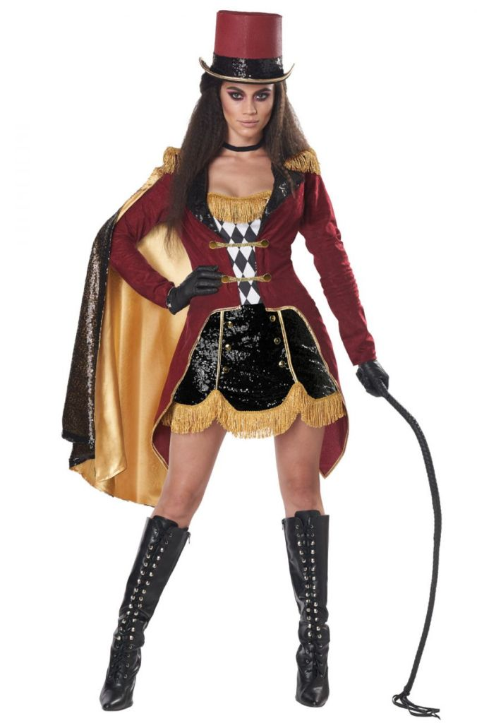 SEXY DAZZLING RINGMASTER COSTUME FOR WOMEN
