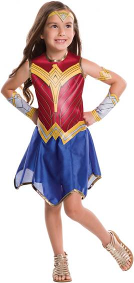 CLASSIC WONDER WOMAN COSTUME FOR GIRLS
