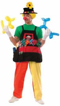CLOWN BALLOON APRON