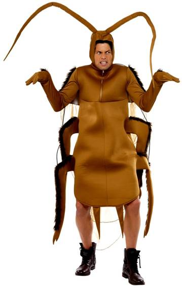 COCKROACH COSTUME FOR ADULTS