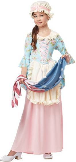 COLONIAL LADY BETSY ROSS