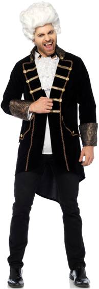 COUNT DRACULA COSTUME FOR MEN