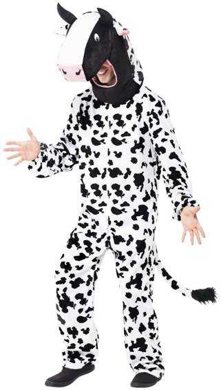 COW MASCOT COSTUME FOR MEN