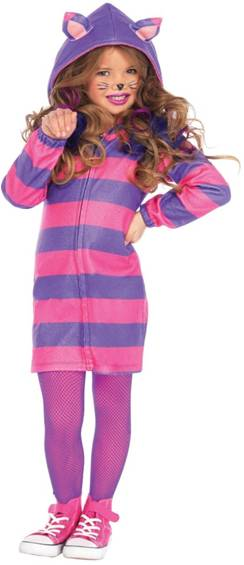 CUTE CHESHIRE CAT COSTUME FOR GIRLS