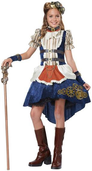 CUTE STEAMPUNK COSTUME FOR GIRLS