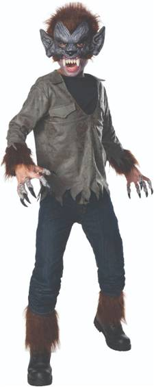 DELUXE WOLFMAN COSTUME FOR BOYS