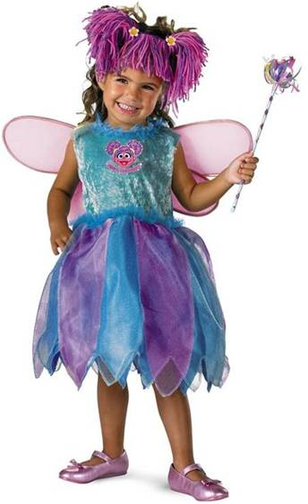 SESAME STREET DELUXE ABBY CADABBY COSTUME FOR KIDS