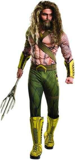 BATMAN vs. SUPERMAN DELUXE AQUAMAN COSTUME FOR MEN