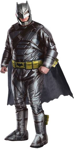 DELUXE ARMORED BATMAN PLUS SIZE COSTUME FOR MEN