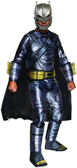 DAWN OF JUSTICE ARMORED BATMAN COSTUME FOR BOYS