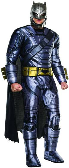 BvS DELUXE ARMORED BATMAN COSTUME FOR MEN