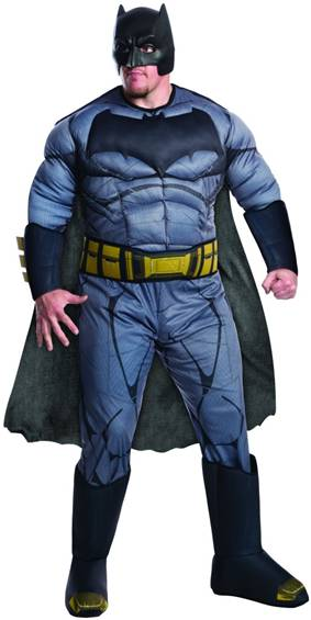 BvS DELUXE BATMAN COSTUME FOR PLUS SIZE MEN $64.99  sc 1 st  Crazy For Costumes : 80s batman costume  - Germanpascual.Com