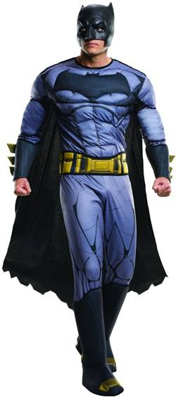 BvS: DAWN OF JUSTICE DELUXE BATMAN COSTUME FOR MEN