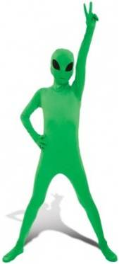 DELUXE CHILD ALIEN MORPHSUIT
