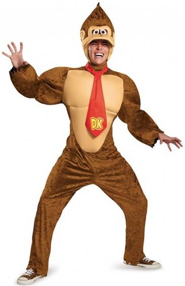 DELUXE DONKEY KONG PLUS SIZE COSTUME FOR MEN