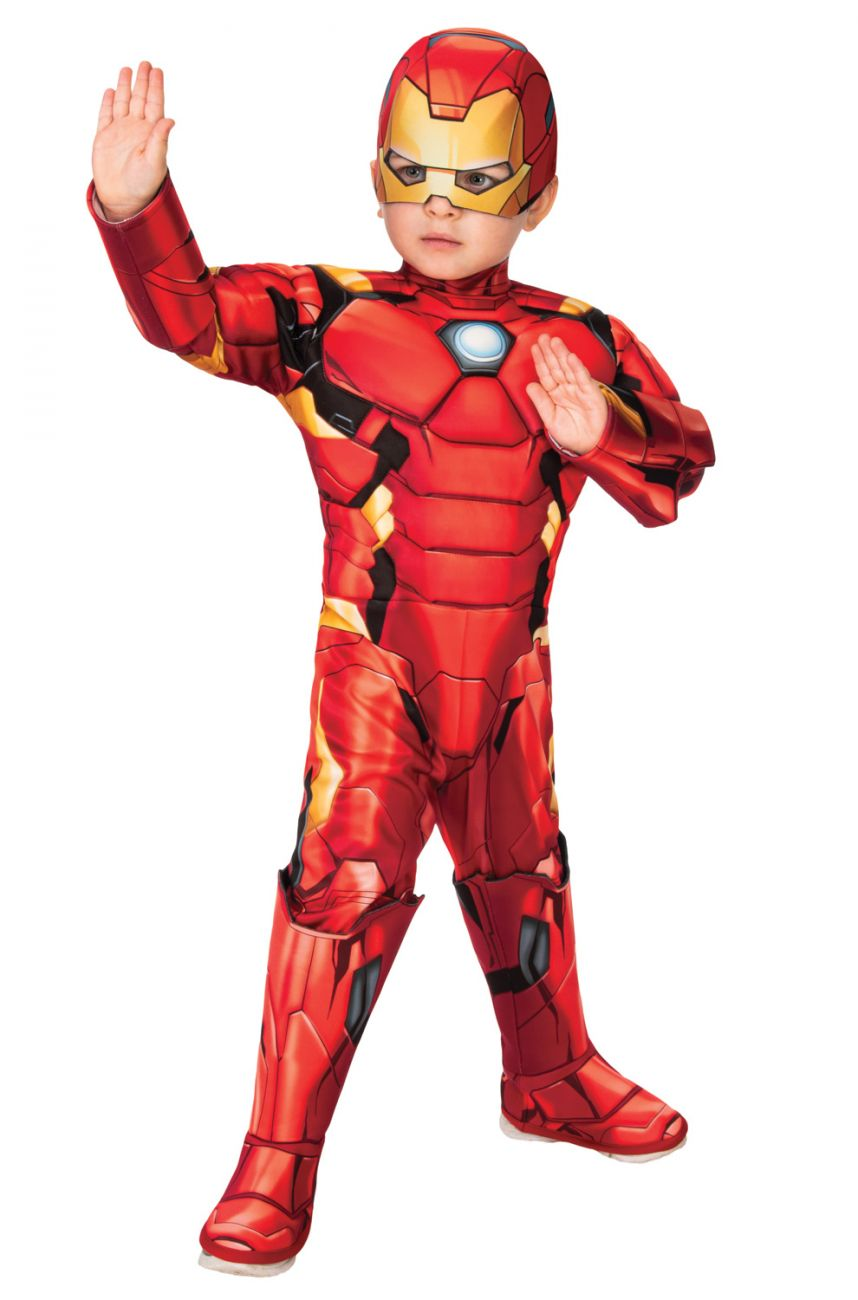 AVENGERS DELUXE IRON MAN COSTUME FOR TODDLERS