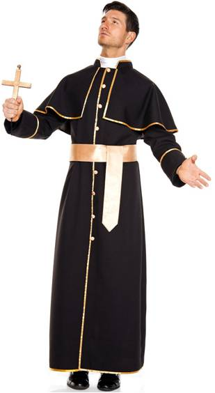 DELUXE PRIEST COSTUME FOR MEN